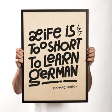 BERLIN LOVES YOU Life is too short to learn German