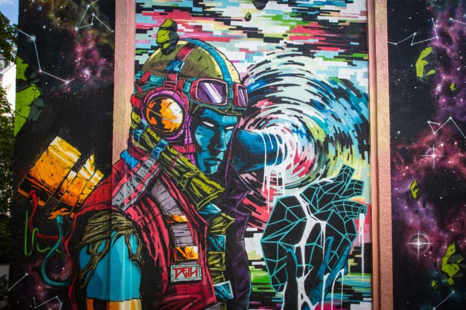 Urban Nation Mural Deih XLF