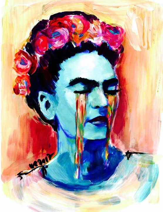 artnight frida kahlo am in berlin. Black Bedroom Furniture Sets. Home Design Ideas