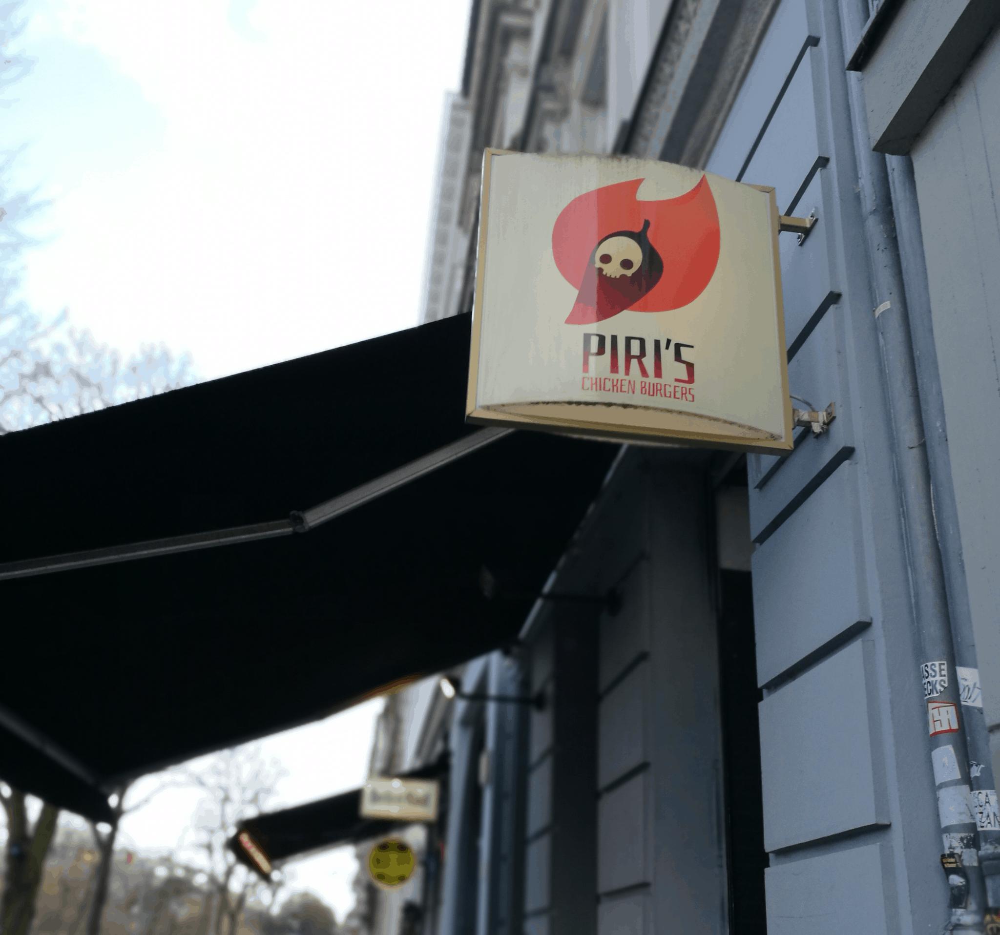 Berlin Loves You Piri's Outside Logo