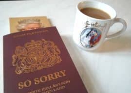 """So Sorry"" is Your Taschenbuch to Britishness"