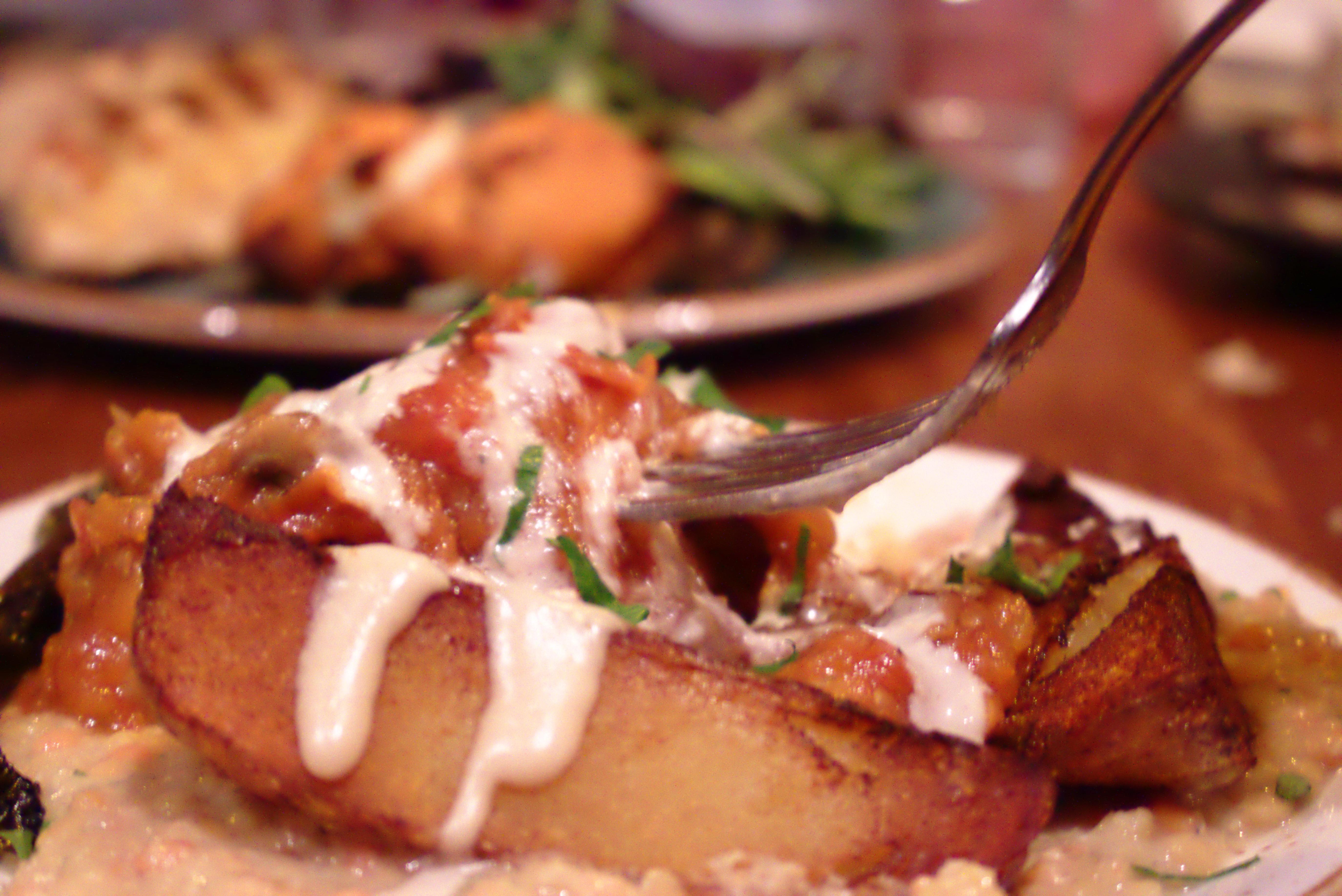Night Kitchen Bonfire Potato