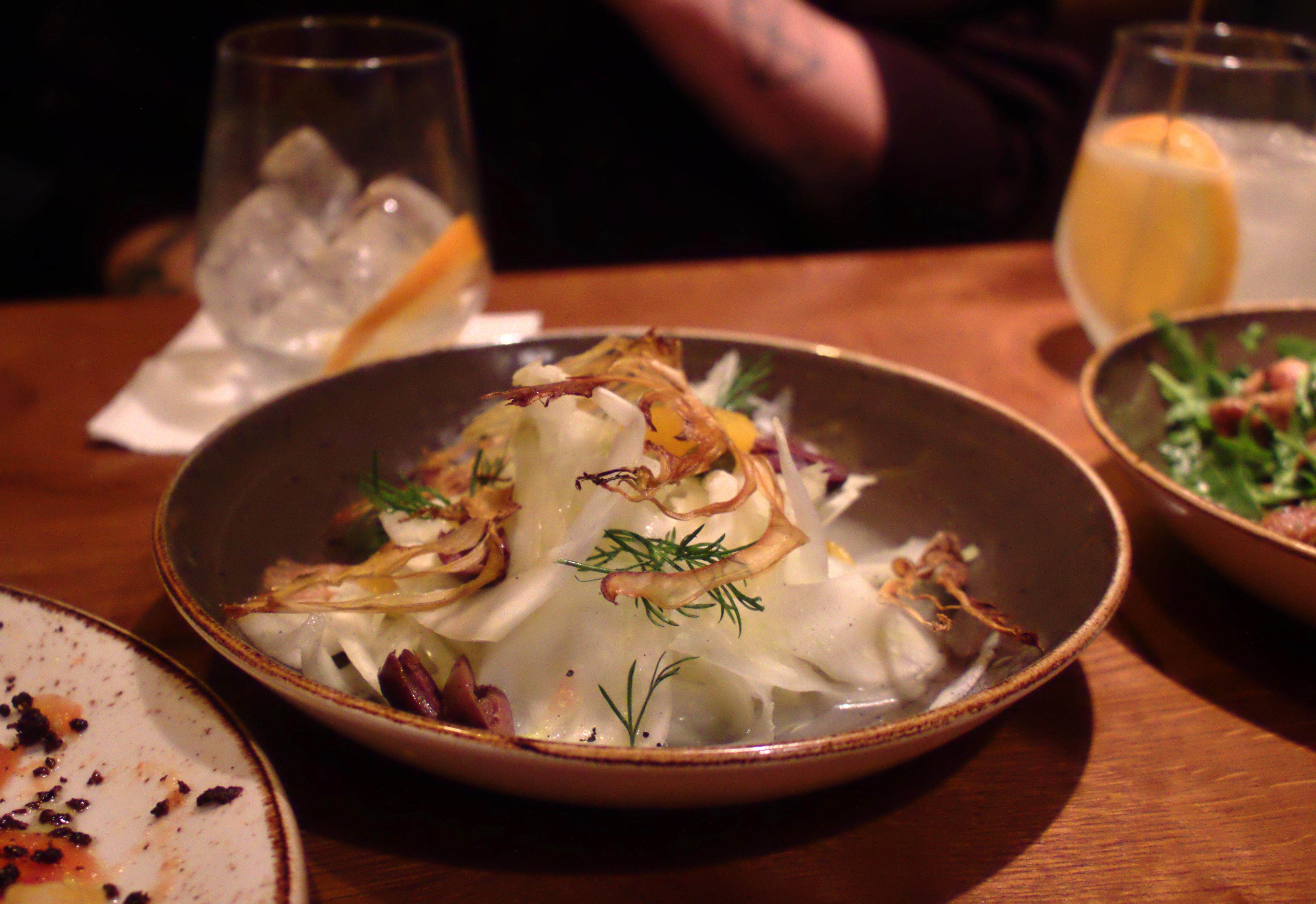 Night Kitchen Fennel Salad